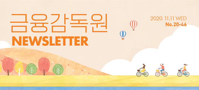 2020.11.11 WED No.20-46 금융감독원 NEWSLETTER